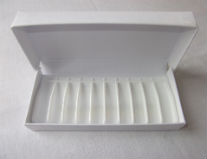 Storage box for 10 x 1-2ml vials