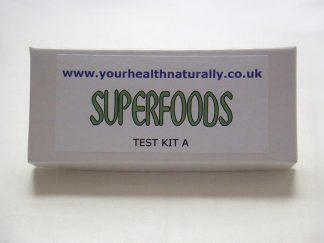 Superfoods Test Kit B - Your Health Naturally